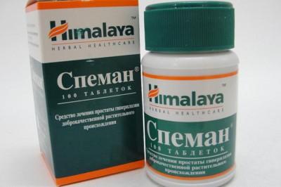 Препарат Спеман для улучшения мужского здоровья
